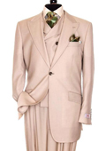 3 Piece Peach Suit