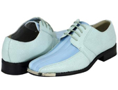 Blue Mens Dress Shoes