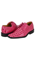 All New fuchsia ~ hot Pink Mens Dress Shoes $125