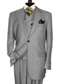 3 Piece Light Grey