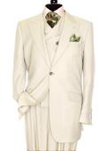 3 Piece Ivory Suit
