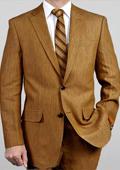 White linen blazer for men