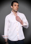Melon Cotton Shirt with