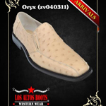 Genuine Ostrich Dress Shoes