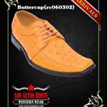 Genuine Ostrich Dress Shoes