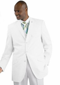 SKU#WQZ12 Men's Vested Seersucker Suit Available in White Color