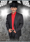 Western Suit Black/Red $239