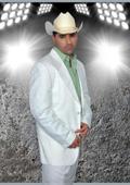 Western Suit White/Pistachio $239