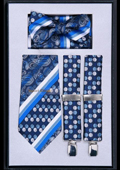 Suspender Tie Bow Tie
