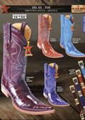 Los Altos 6X Toe Genuine Eel Men's Western Cowboy Boots $199