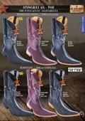 Los Altos 6X Toe Genuine Stingray Men's Western Cowboy Boots $339