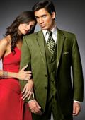Olive Colored Tuxedo
