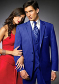 Btn Suit/Colored Tuxedo Satin