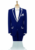 Lapel Navy Blue 2