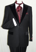 Black Wool Formal Tuxedo