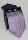 3-piece Lavender Square Matching