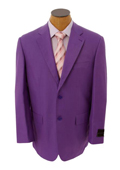 Mens Solid Purple Lavender Blazer $149