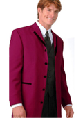 Burgundy Trim Microfiber Two