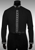 Clergy Collar Cross Placket