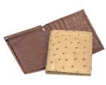 Ostrich skin wallets