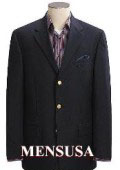 Dark Texturized Shark Skin Black Mens Dress Blazer 3 Button Wool Side Vents $159