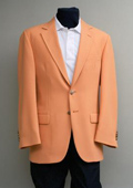 2 Button Blazer Orange