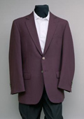 2 Button Blazer Burgundy