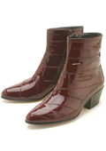 Eel Zipper Boot $239