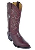 Burgundy ~ Maroon ~ Wine Color J-Toe Genuine Teju Lizard $279