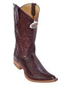Burgundy ~ Maroon ~ Wine Color XXX 3X Toe Genuine Ostrich Leg $279
