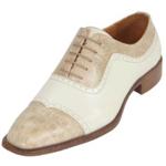 Mens Two Tone Dress Shoe