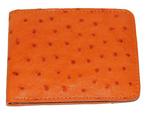 Altos Ostrich Wallet Orange