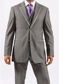 Button Grey Manhattan Tuxedo