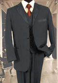 3PC Charcoal Gray Tuxedo