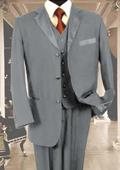 3PC Silver Tuxedo 3