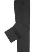 Solid ~ plain front trousers are constructed of high-denier 2-Ply 100% Worsted Wool 8 Colors $99