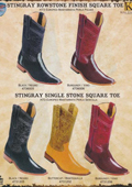Genuine Stingray Mens Cowboy