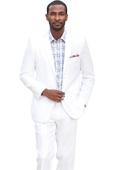 Fit Linen Suit -