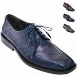 Eel skin shoes