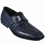 Smooth Ostrich/Deer Leather Shoe
