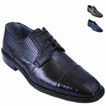 Lizard w/Gator Tip Shoe