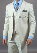 white line suit