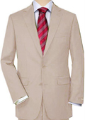 Beige Quality Total Comfort Suit Separate Any Size Jacket & Any Size Pants $189