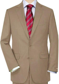 Khaki Quality Total Comfort Suit Separate Any Size Jacket & Any Size Pants $189