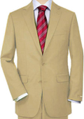 Tan Quality Total Comfort Suit Separate Any Size Jacket & Any Size Pants $189