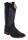 Womens Cowhide Boot S-Toe