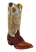 Womens Cowhide Saddle Vamp