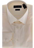 Modern-fit Dress Shirt Beige