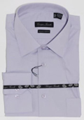 Men's Modern-fit Dress Shirt Lavender $39