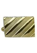 Plated Rectangular Cuff links